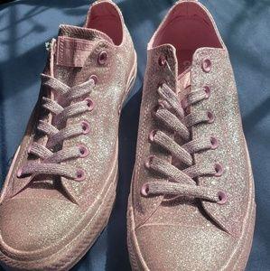 COPY - Pink Glitter Converse